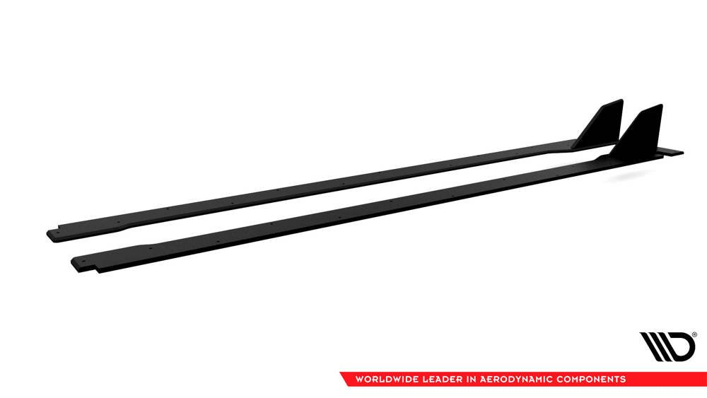 Racing Durability Side Skirts Diffusers Honda Civic X Type-R