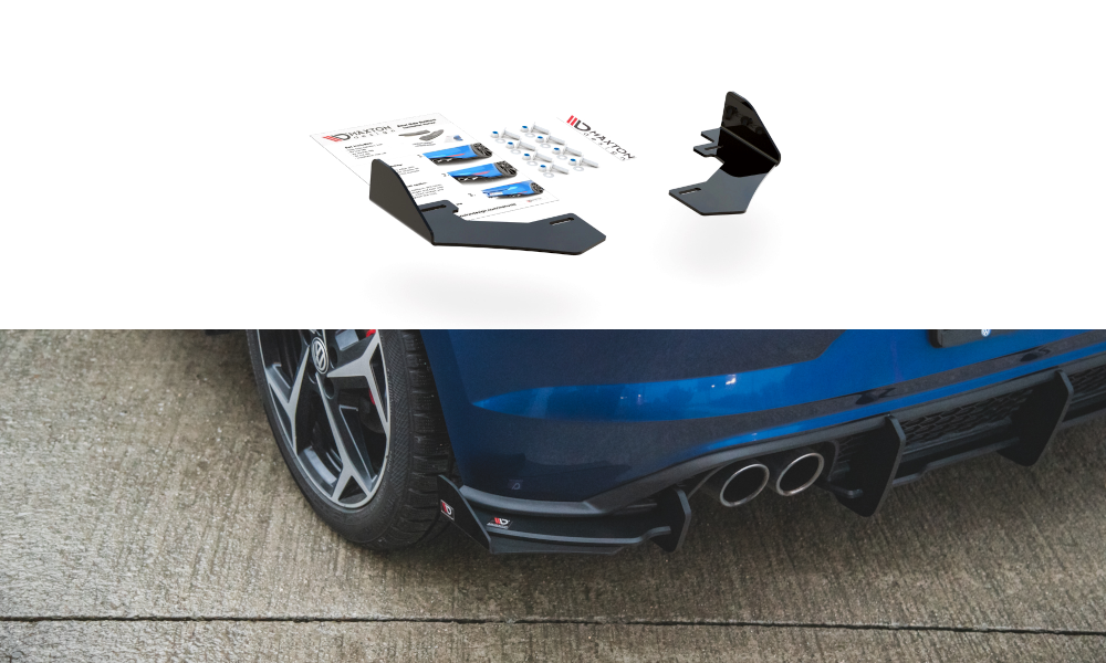 Rear Side Flaps Volkswagen Polo GTI Mk6