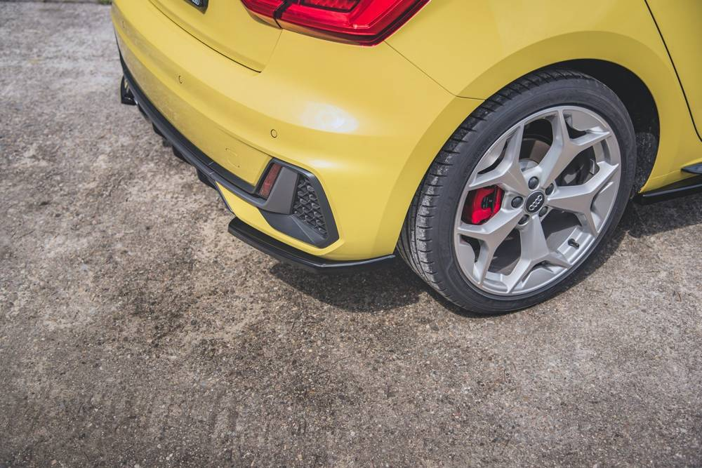 Rear Side Splitters Audi A1 S-Line GB