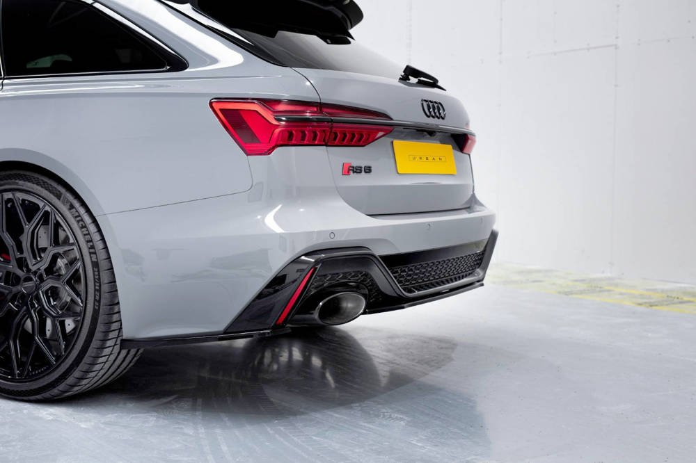 Rear Side Splitters Audi RS6 C8