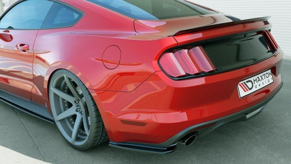 Rear Side Splitters Ford Mustang Mk6