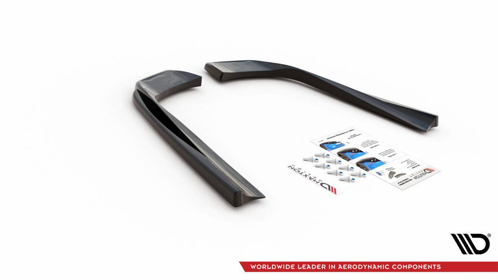 Rear Side Splitters for Mercedes-AMG E53 Coupe C238