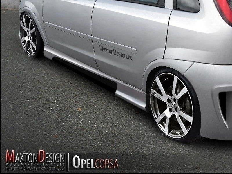 SIDE SKIRTS 2 OPEL CORSA C