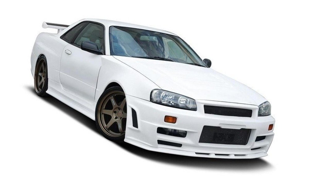 SIDE SKIRTS ADD-ON Z TYPE (FOR 2293 SIDE SKIRTS) NISSAN SKYLINE R34 GTT