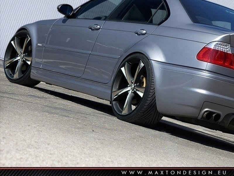 SIDE SKIRTS BMW 3 E46 - 4 DOOR SALOON < M3 LOOK >