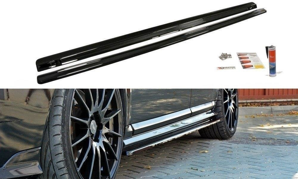 SIDE SKIRTS DIFFUSERS VOLVO V50F R-DESIGN