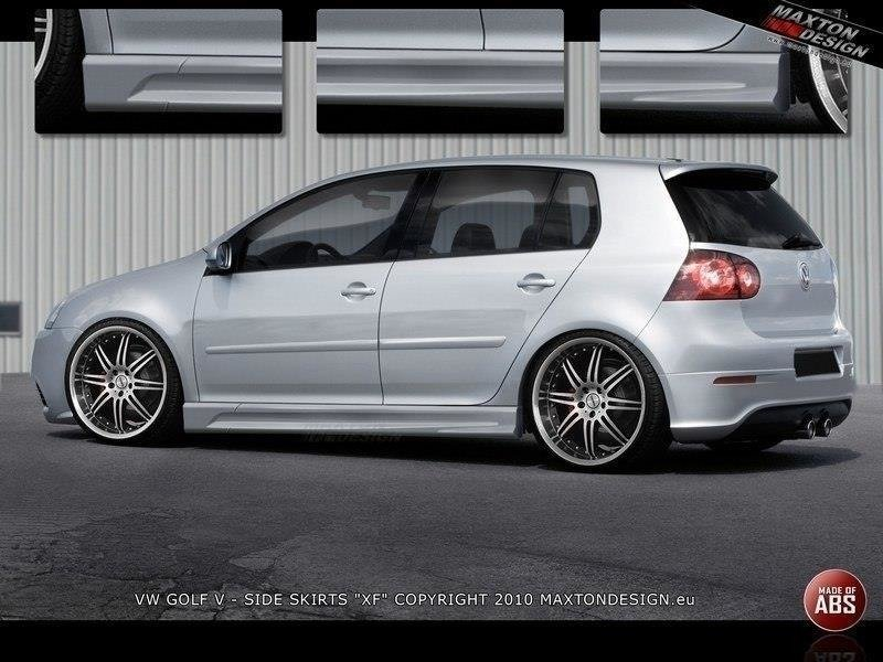 SIDE SKIRTS GOLF 5 < XR >