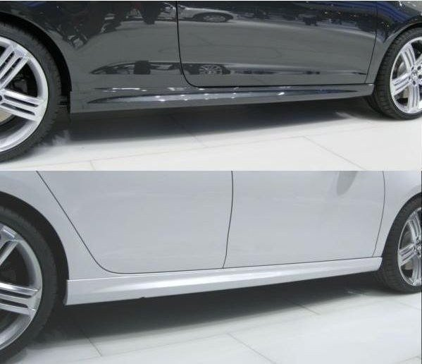 SIDE SKIRTS GOLF MK5 (GOLF VI R20 Look), GOLF VI R20 LOOK