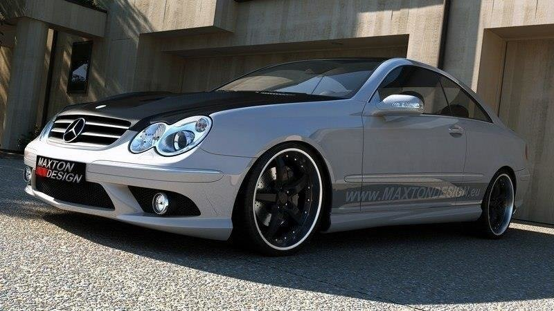 SIDE SKIRTS MERCEDES CLK W209 AMG LOOK