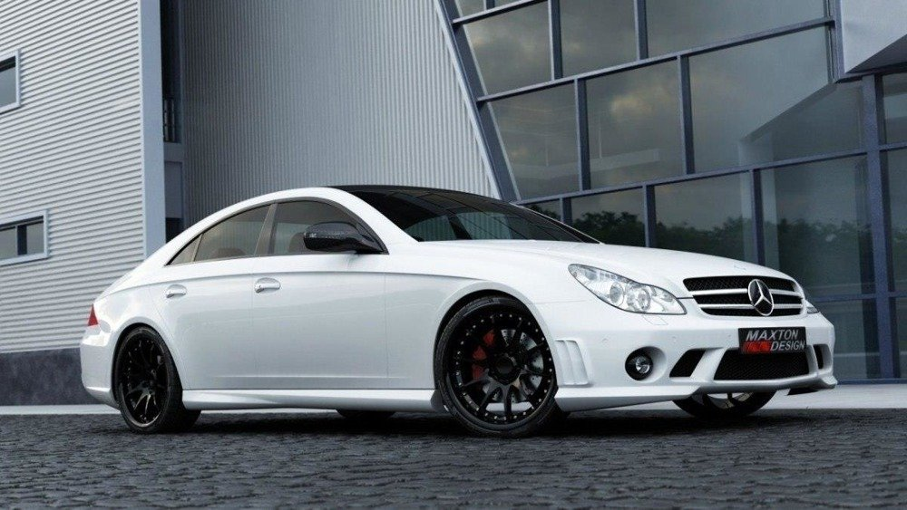 SIDE SKIRTS MERCEDES CLS C219 < W204 AMG LOOK>