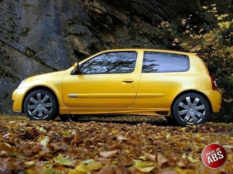 SIDE SKIRTS RENAULT CLIO II < AF >