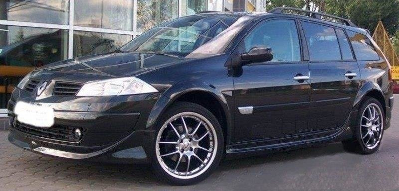 SIDE SKIRTS RENAULT MEGANE II, 4,5 DOOR