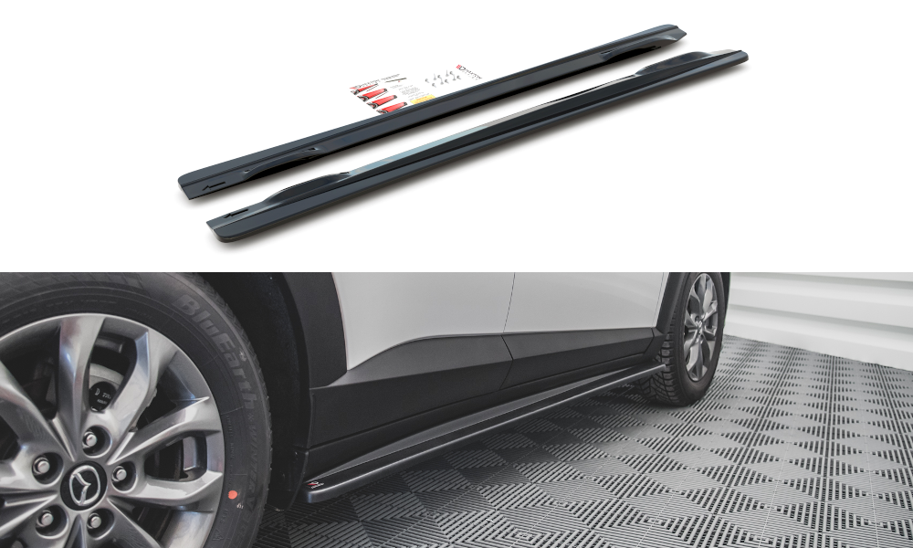 Side Skirts Diffusers Mazda CX-3