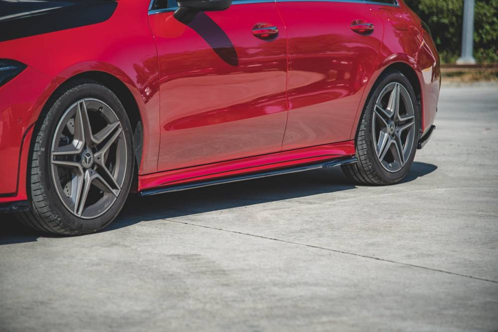 Side Skirts Diffusers Mercedes-Benz CLA AMG-Line C118