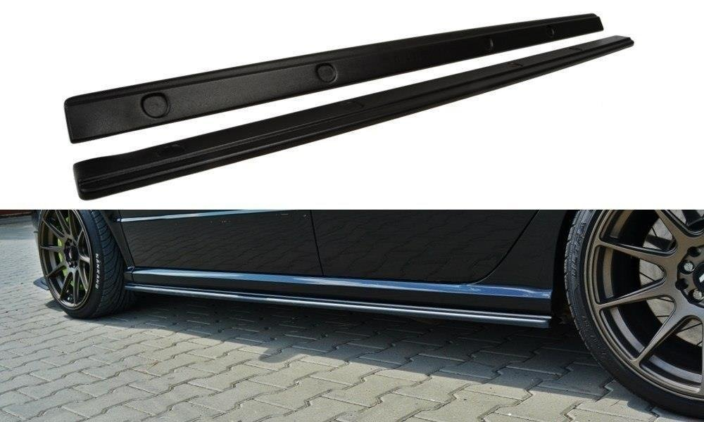 Side Skirts Diffusers Skoda Fabia RS Mk1