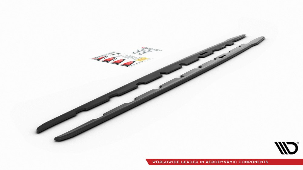 Side Skirts Diffusers V.2 BMW 1 F40 M-Pack/ M135i