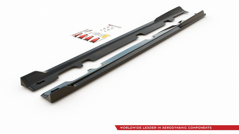 Side Skirts Diffusers V.3 Ford Fiesta Mk8 ST / ST-Line