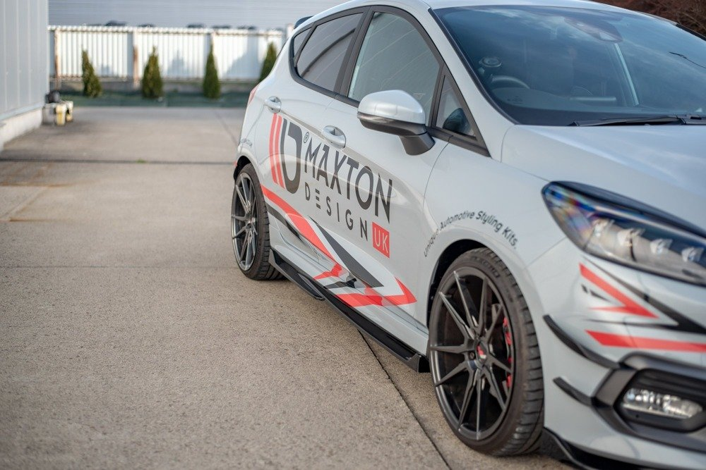 Side Skirts Diffusers V.4 Ford Fiesta Mk8 ST / ST-Line