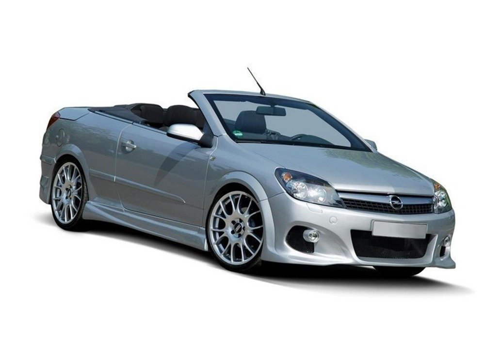 Side skirts Opel Astra H (3 & 5 door hatchback, Twin Top)