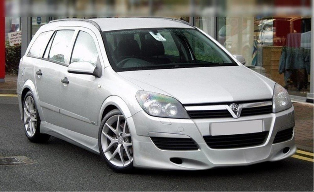 Side skirts opel Astra H (saloon & estate)