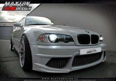 FRONT BUMPER BMW 3 E46 - 4 DOOR SALOON < GENERATION V >