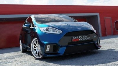 Front Bumper (Focus RS Look) Ford Fiesta Mk7 FL
