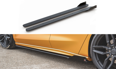 Racing Durability Side Skirts Diffusers + Flaps Ford Focus ST / ST-Line Mk4