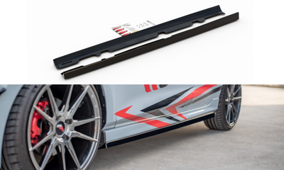 Side Skirts Diffusers V.2 Ford Fiesta Mk8 ST / ST-Line